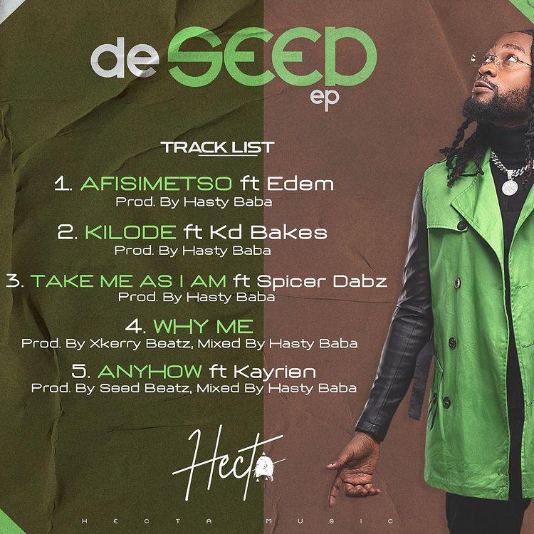 Hecta De Seed EP tracklist
