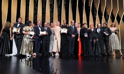 he winners of the 74th Festival de Cannes © V. HACHE / AFP