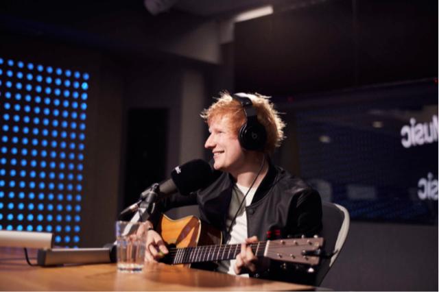 Ed Sheeran joins Rebecca Judd on Apple Music 1