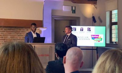 """David Atuahene wins """"Best Entrepreneurial potential""""from European Institute of Innovation and Technology"""