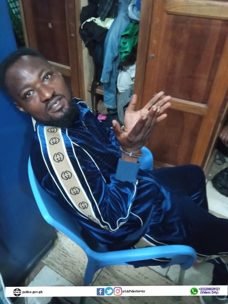 Funny Face in Police Custody for Allegedly Threatening Some Individuals