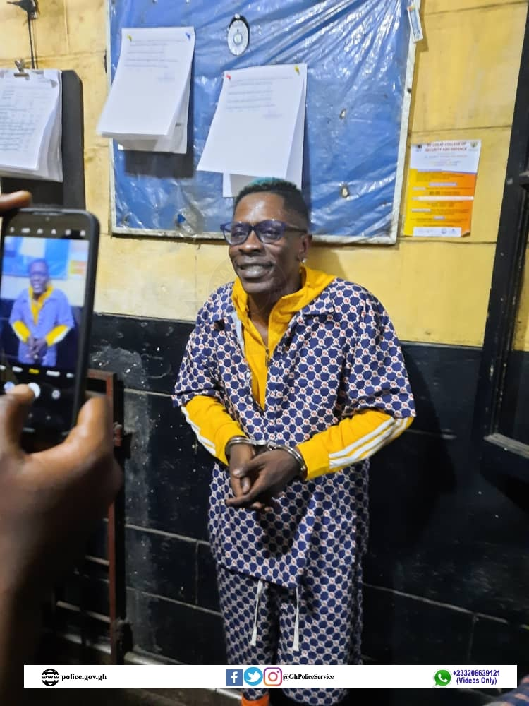 Shatta Wale arrested over fake shooting