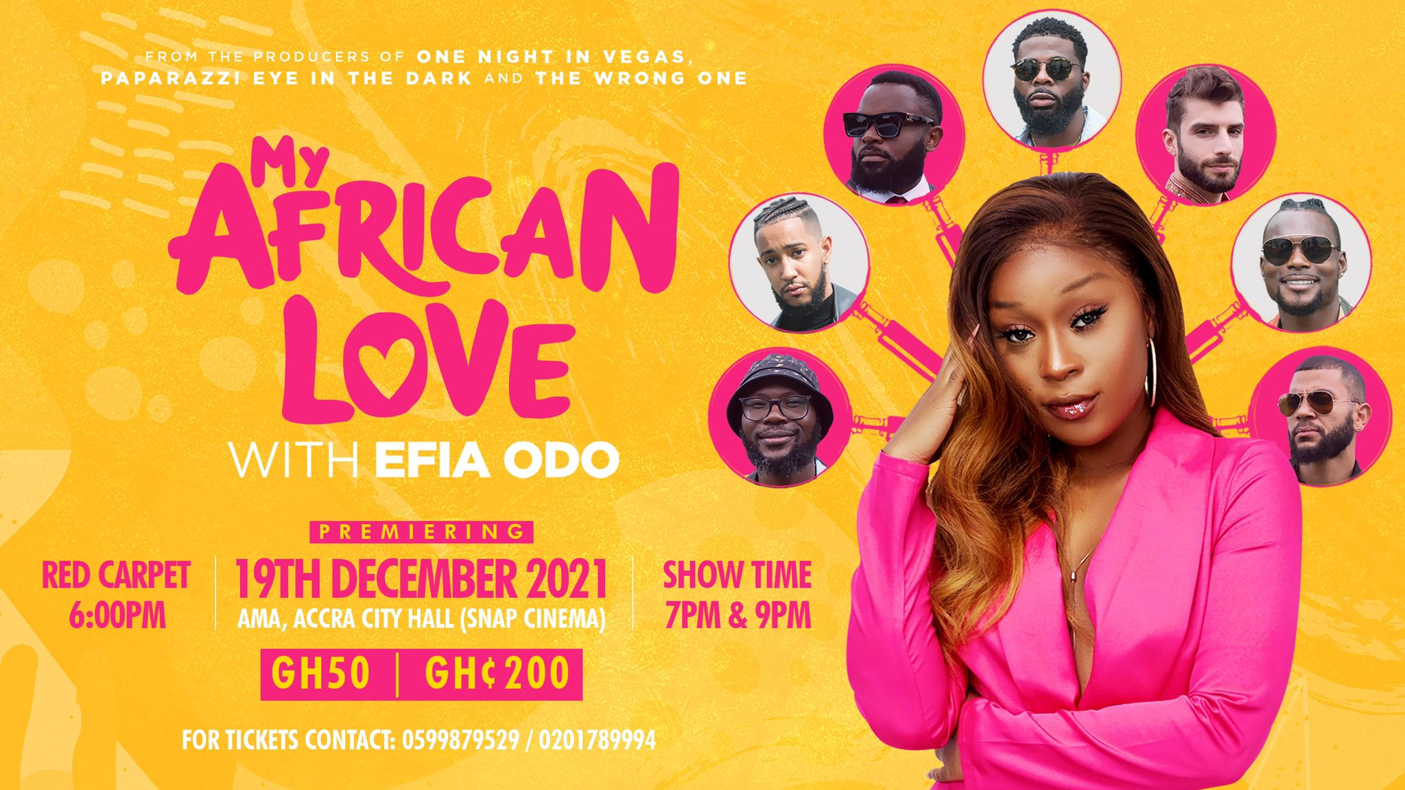 My African Love with Efia Odo